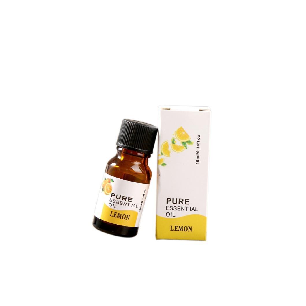 10ML Huile Essentielle Bio, Rameng 100% Pur et Naturel Aromathérapie Soin de La Peau Femme (E) Rameng