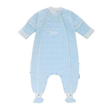 08b2f3177 HAIMING-sleeping bag Saco De Dormir Pierna Dividida Mono De Bebe Pijamas De  Bebe-Edredón De Algodón Pierna Ajustable con Funda Desmontable: Amazon.es:  Hogar