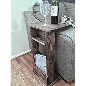 Amazon Com Sofa Tray Table With Light Clip On To Armchair