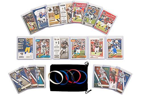 Football Cards: Fantasy RBs (19) Todd Gurley Ezekiel Elliott, Gordon, Peterson, Bell, Blount, Lynch, Ajayi, Anderson, Dion Lewis, McCoy, Mixon, Ingram, Johnson, Hyde, McCaffrey, Stewart, Freeman, Gore ()