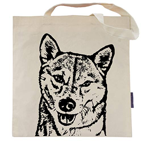 (Jack the Shiba Inu Tote Bag by Pet Studio Art)