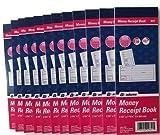 Adams Money Receipt Book With Tear-off Stub, 9641