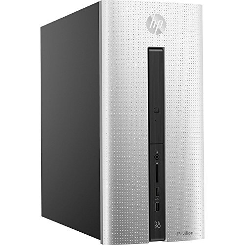 2017 HP Pavilion 500 550 High Performance Flagship Premium Desktop Computer (Intel Core i3-4170 3.7GHz, 6GB RAM, 1TB HDD, WiFi, DVD, Windows 10) (Certified Refurbished)