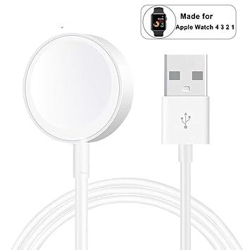 Nanboo - Cable Cargador inalámbrico para Apple Watch Series ...