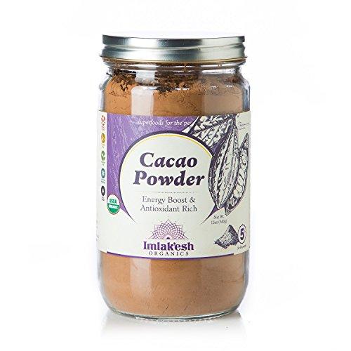 Imlak'esh Organics Cacao Powder, 12-Ounce Jar