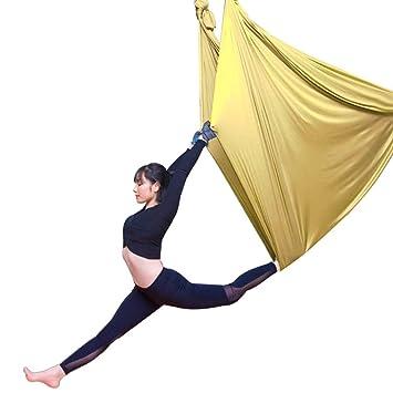 Hamaca de yoga Estiramiento de cama con cinturón elástico ...