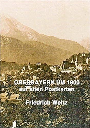 Book Oberbayern um 1900
