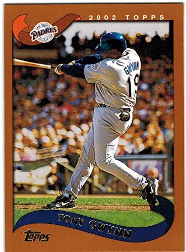 - 2002 Topps San Diego Padres Team Set with Rickey Henderson - Trevor Hoffman & Tony Gwynn - 19 Cards