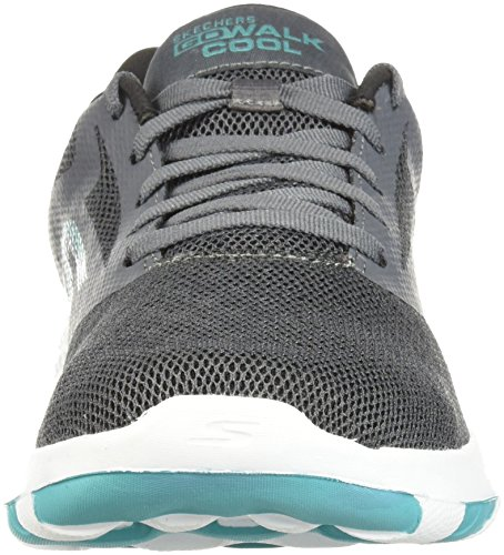 Go Walk Skechers15651 15651 Cool Mujer Carbón Turquesa Para dZg4xnpg