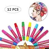 Hair Chalk Girls Toys & Kids Toys Makeup Kit Temporary Hair Chalk Pens Teen Girl Gifts 7, 8, 9, 10, 11, 12 Year Old,...