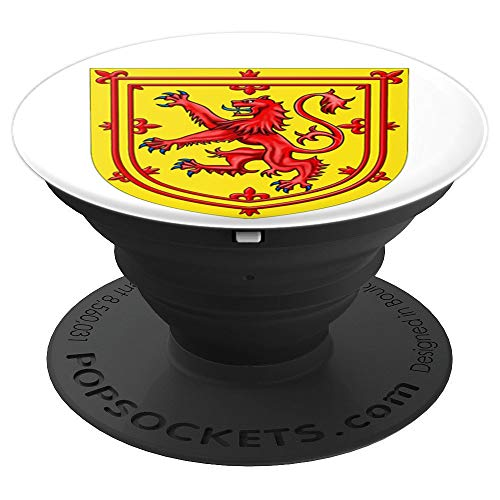 Scotland Lion Rampant Coat Of Arms - PopSockets Grip and Stand for Phones and Tablets ()