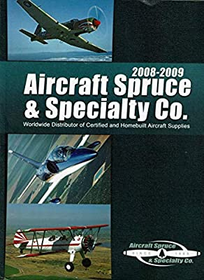 2008-2009 Aircraft Spruce & Specialty Co. Catalog