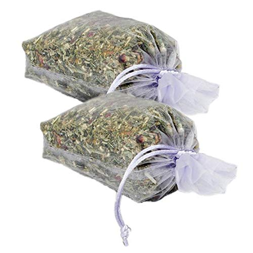 (Natural Scented Potpourri Sachets - Made in the USA with Botanicals, Lavender Bossoms and Essential Oils by MoonDance Soaps (Set of 2 Bags, LAVENDER))