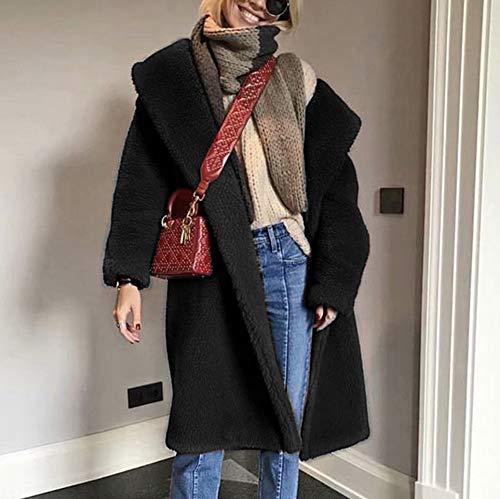 Femme Vetements Veste Frenchenal Chic Noir Chaude Chaud Hiver Blazers Vetement  Femmes Long Manteau pEqCq5xvw 86dc68590d2