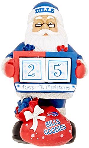 Buffalo Bills Santa Countdown Calendar