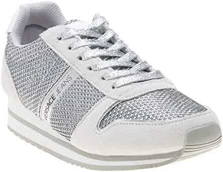 Shopping $100 to $200 Ivory or Silver Fashion Sneakers