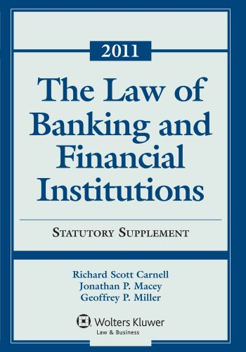 Law of Banking & Financial Institutions: 2011 Statutory ...
