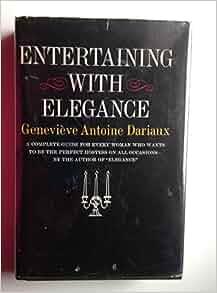 TO GENEVIEVE ELEGANCE GUIDE PDF DARIAUX ANTOINE A