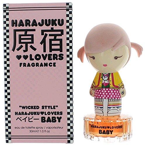 Harajuku Lovers Baby Wicked Style Eau De Toilette Spray, 1-Fluid (Harajuku Lovers Baby)