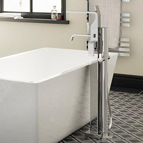 Elda Square Floor Standing Bath Shower Mixer Better Bathrooms Outlet