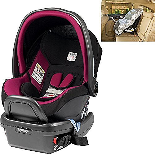 Peg Perego Primo Viaggio Infant 4/35 Fleur Car Seat with Sunshade