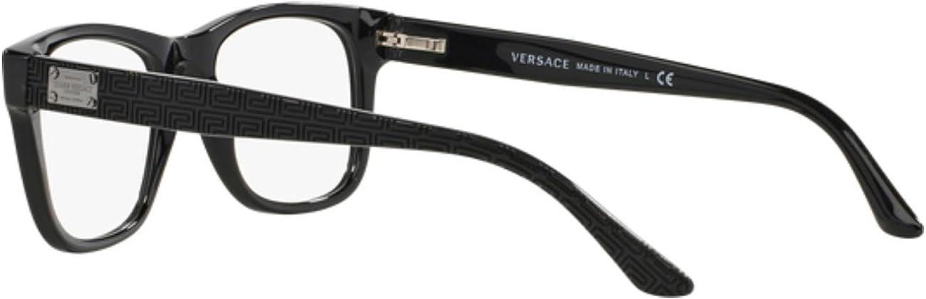 Versace VE3199 Eyeglass Frames GB1-53 Black VE3199-GB1-53