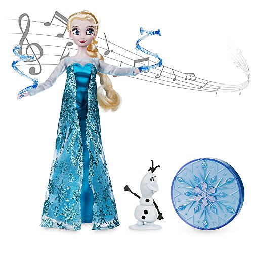 Disney Frozen Elsa Singing Doll Set - 11 Inch