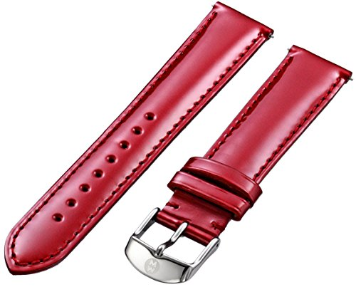 Michele Watches 18mm Leather Watch Strap - 8