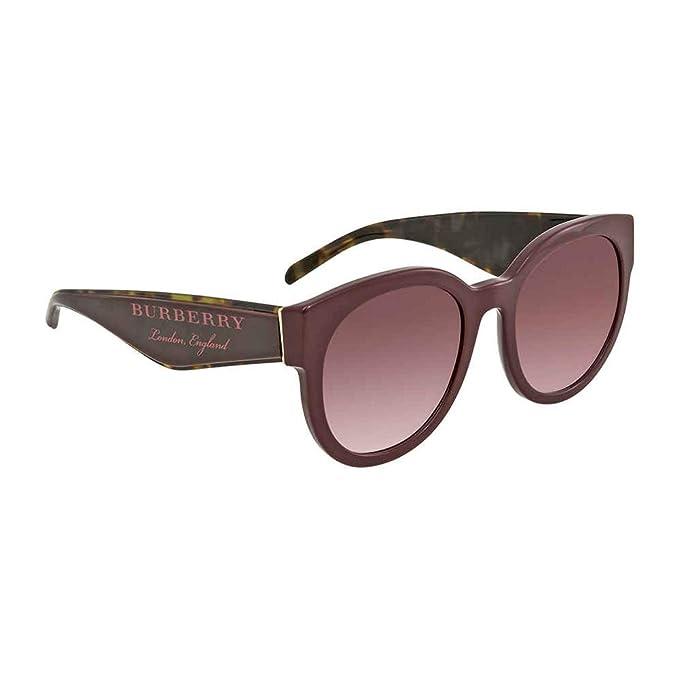 d5716edc48 Burberry 0Be4260 36898D 54, Gafas de Sol para Mujer, Rojo (Bordeaux/Pink