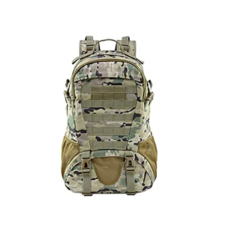 bf489c054c8b Amazon.com: Ecurson Tactical Rucksacks Backpack Expandable Large 3 ...
