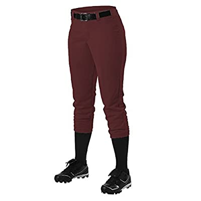 Alleson Athletic Girls Fast pitch Softball Belt Loop Pants