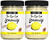 Lemonaise - A Zesty Citrus Mayo - All Natural Lemon Mayonnaise For Sandwich Spreads, Dips, and Dressings - 12 Ounce Jar (Pack of 2)