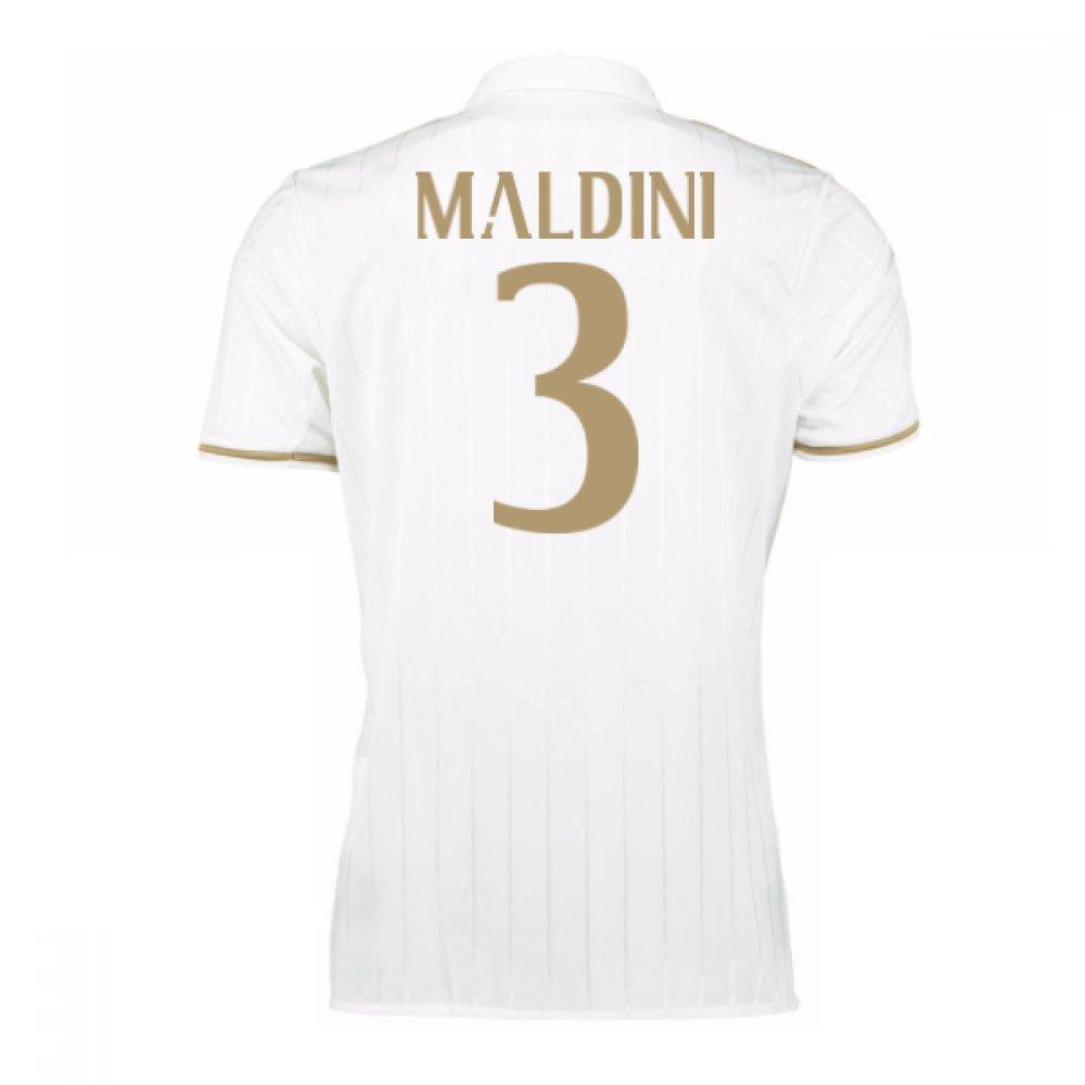 2016-17 AC Milan Away Shirt (Maldini 3) Kids B077Z1LW6SWhite Medium Boys 28-30\