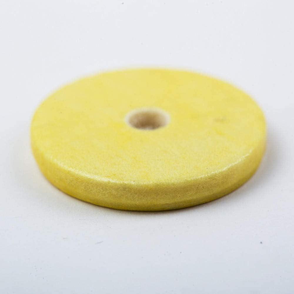 Lecimo Tono di pastiglie in pelle Fuax 16 pezzi per parti di strumenti musicali Yamaha