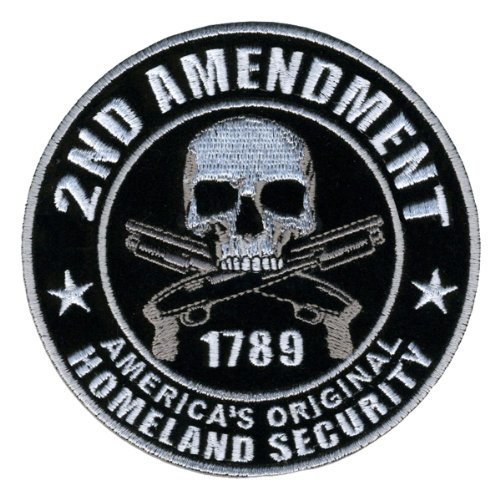 (Hot Leathers PPA5950 Homeland Security 2nd Amendment Support Patch (4