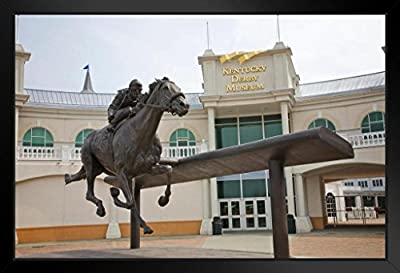Barbaro Memorial Statue Kentucky Derby Museum Photo Art Print Framed Poster 18x12 by ProFrames