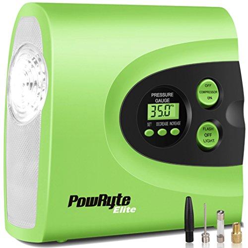 PowRyte Elite 150 PSI Electric Tire Inflator - 12-Volt Porta