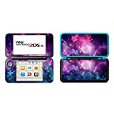 UUShop Protective Vinyl Skin Sticker Cover Wrap for New Nintendo 2DS XL / LL Galaxy Nebula