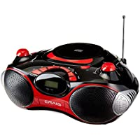 Craig Electronics CD Boombox with AM/FM Stereo Radio