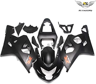 New Injection Mold Fairings Fit For Suzuki 2004 2005 GSXR 600 750 K4 04 05 GSX-R600 Aftermarket UNPainted Kit ABS Plastic Motorcycle Bodywork