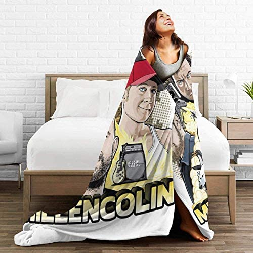 Yuanmeiju Couverture Douce et Chaude Millencolin Ultra Soft Micro Fleece Throw Blanket Sofa Bed Blanket for Adults Kids