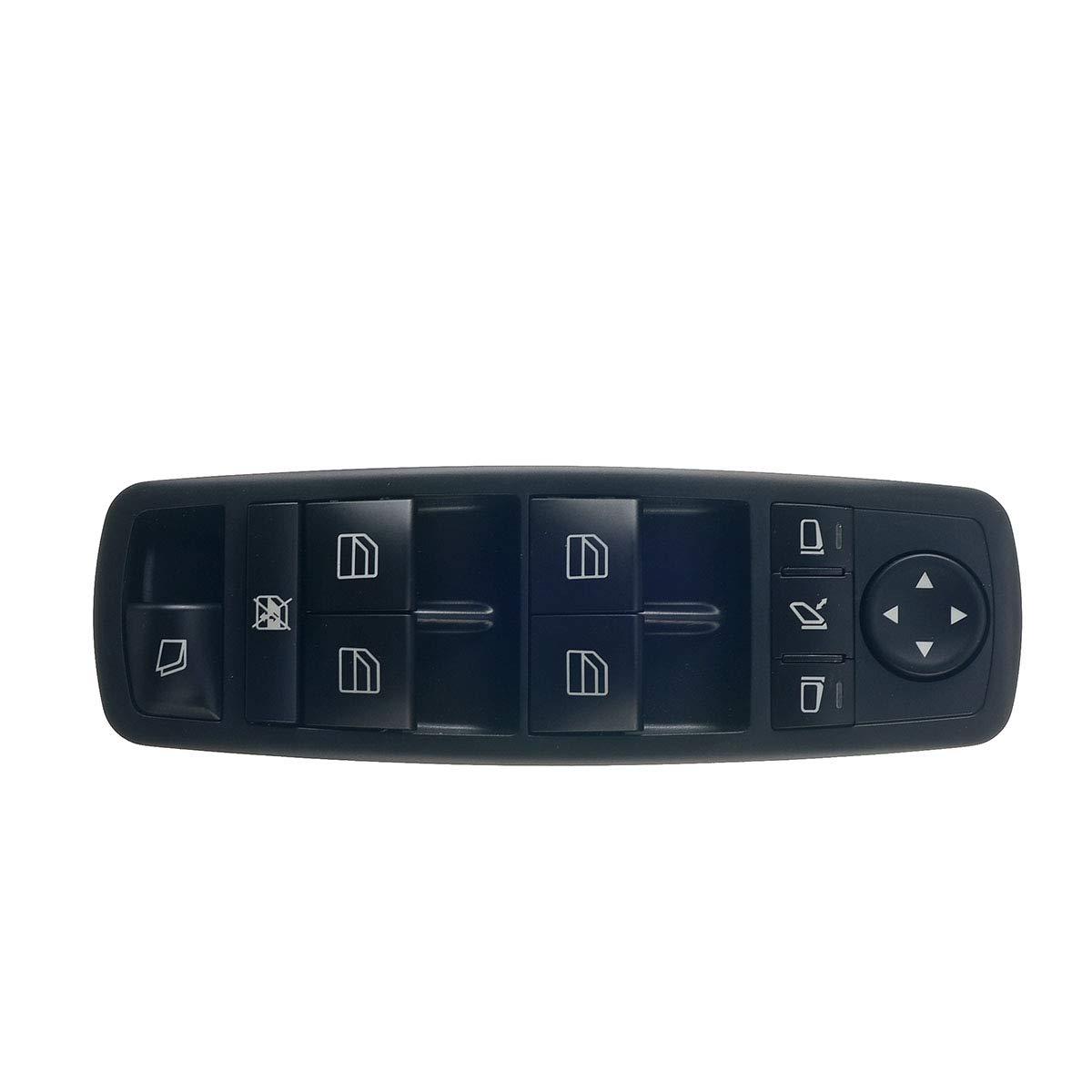 Fensterheber Schalter Schalteinheit Vorne Links f/ür X164 X166 W251 V251 2006-2019 A2518300590