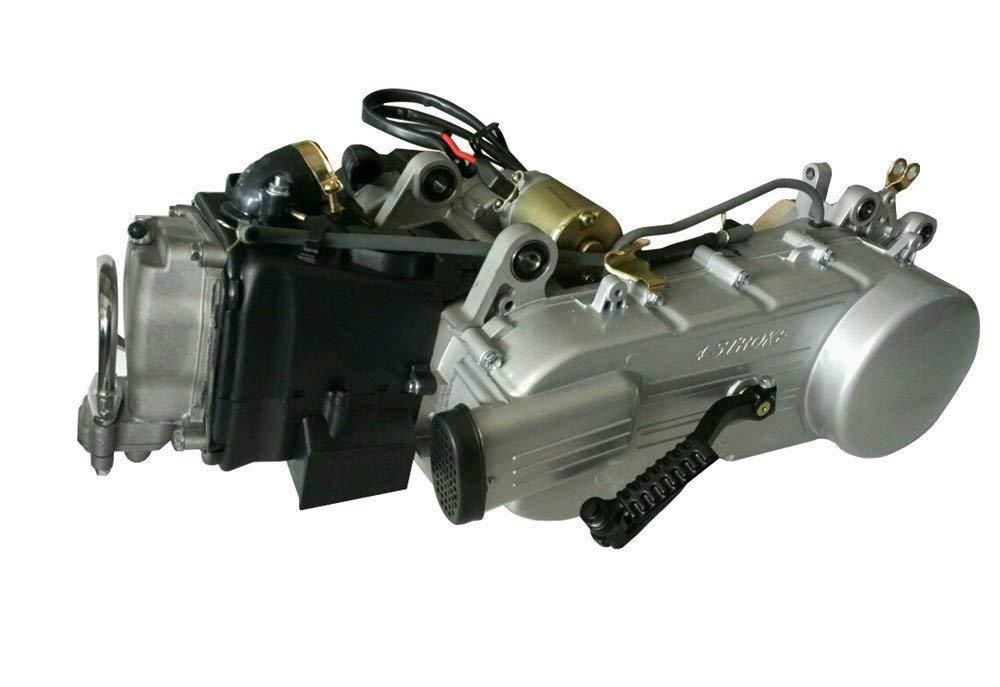 150 cc de 4 tiempos GY6 Scooter Motor Motor de auto corto caso 150 cc GY6 Scooter para - Rueda para patinete motor eléctrico de 4 tiempos motor 150 CVT Auto ...