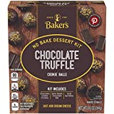 Baker's Chocolate Truffle Cookie Balls No Bake Dessert Kit (8.6 oz Box)