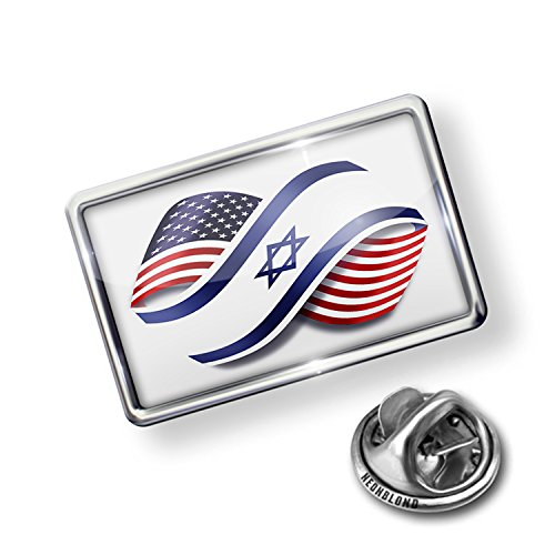 International Flag Pins - NEONBLOND Pin Infinity Flags USA Israel