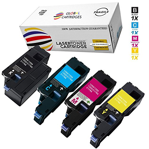 Global Cartridges Compatible Toner Cartridge Set Replacement