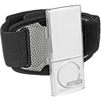 Griffin iClear Armband Case with Clip for iPod nano 5th Gen (Black/Clear) (Discontinued by Manufacturer)