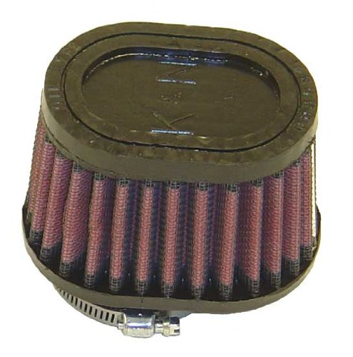 K & N Engineering Universal Oval Tapered Air Filter - Rubber End Cap RU-1820 252964753