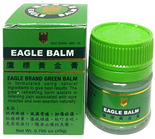 Eagle Brand Green Balm 0.705 Ounce /20 Gram (Oil Eagle)