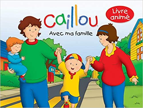 Amazon In Buy Caillou Avec Ma Famille Book Online At Low Prices